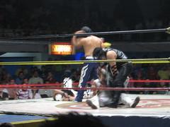 boxing ring(0.0), professional boxing(0.0), individual sports(0.0), muay thai(0.0), shoot boxing(0.0), amateur boxing(0.0), boxing(0.0), contact sport(1.0), sports(1.0), professional wrestling(1.0), combat sport(1.0), kickboxing(1.0), wrestling(1.0), puroresu(1.0), wrestler(1.0),