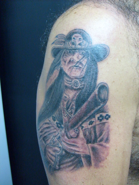 americam indian tattoo