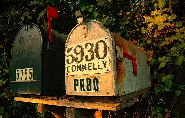 A fascination for the ordinary - mail boxes USA