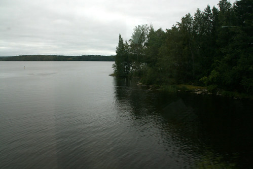travel lake holiday forest train finland view rail vr satakunta westernfinland