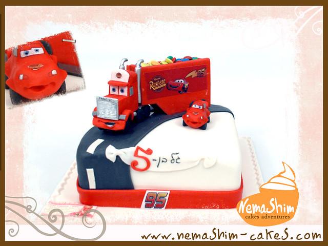 Mack The Truck Cake