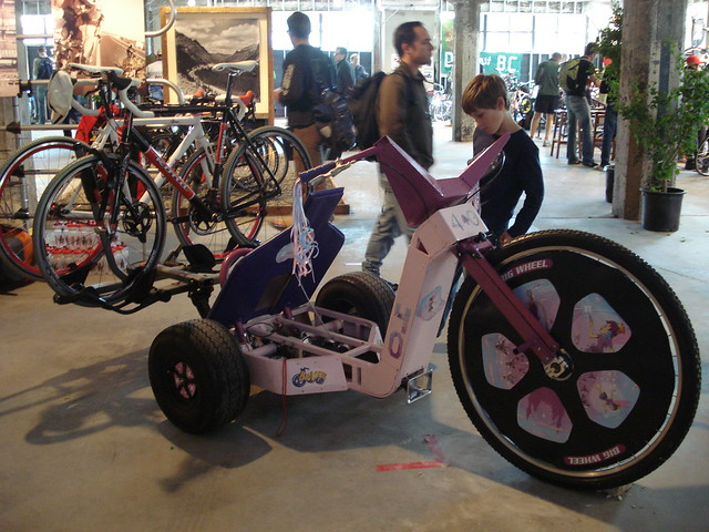 Motorized Bigwheel W Bike Rack Flickr Photo Sharing