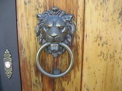 wood, sculpture, door knocker, iron,