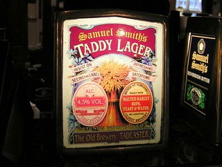 Samuel Smith's, Taddy Lager, England