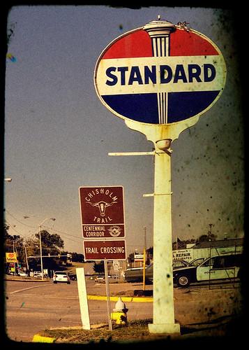 Standard Oil Mast