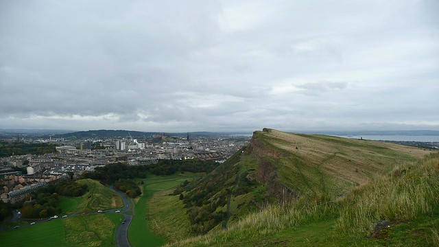 Edinburgh - Holyrood Park - View