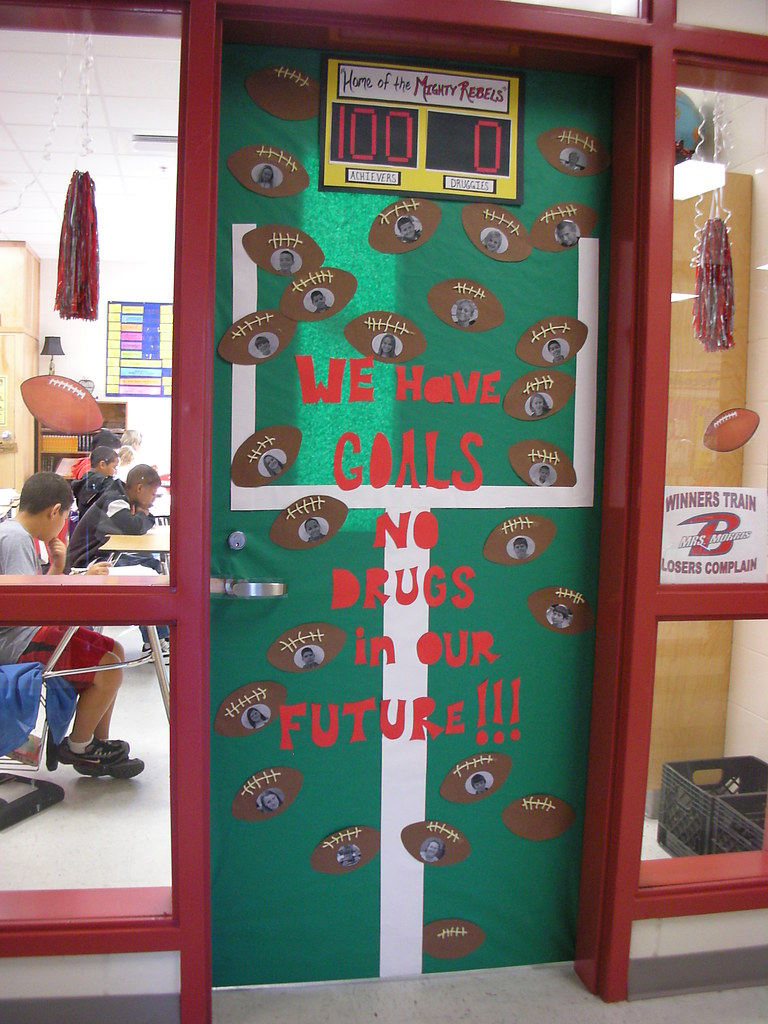 Classroom Door Decoration Ideas For Red Ribbon Week ~ Door decorations for red ribbon week a photo on flickriver