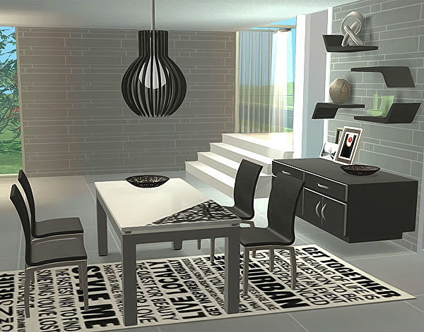 Ideas para casas modernas para los sims3 taringa for Como decorar tu casa con poco dinero