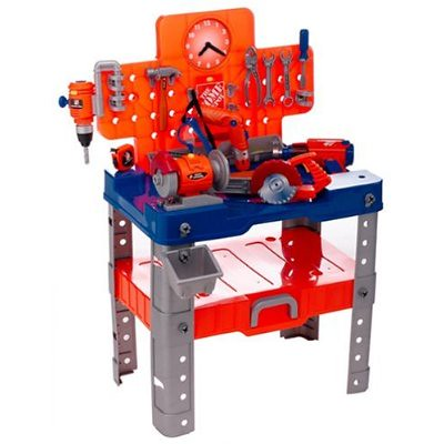 Home Depot Toy Master Workbench