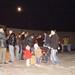 Jue, 13/11/2008 - 20:58 - Los asistentes al magosto de Tecnópole desafían al frío con castañas, vino y chorizos. 14 de noviembre de 2008