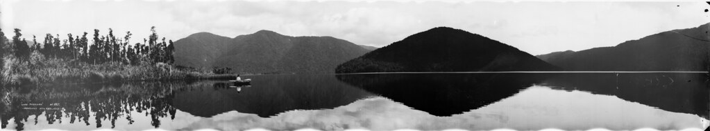 Lake Paringa, Westland, between 1923-1928