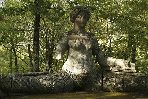 Los jardines de bomarzo italia misterios en la piedra for Jardines de bomarzo