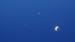 Sad Face (Moon Jupiter and Venus)