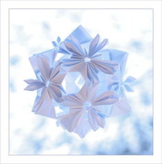 kusudama or snow flowers
