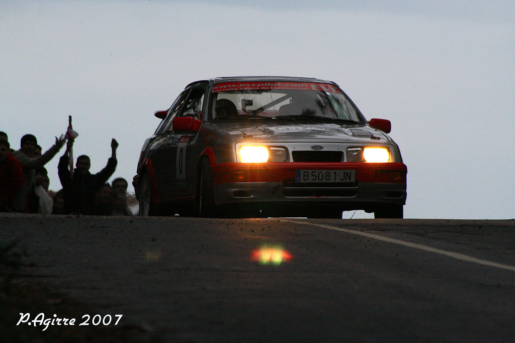 71 I. ZARRAGA-FORD SIERRA COSWORTH-RS MUNGIA 07-TC 3