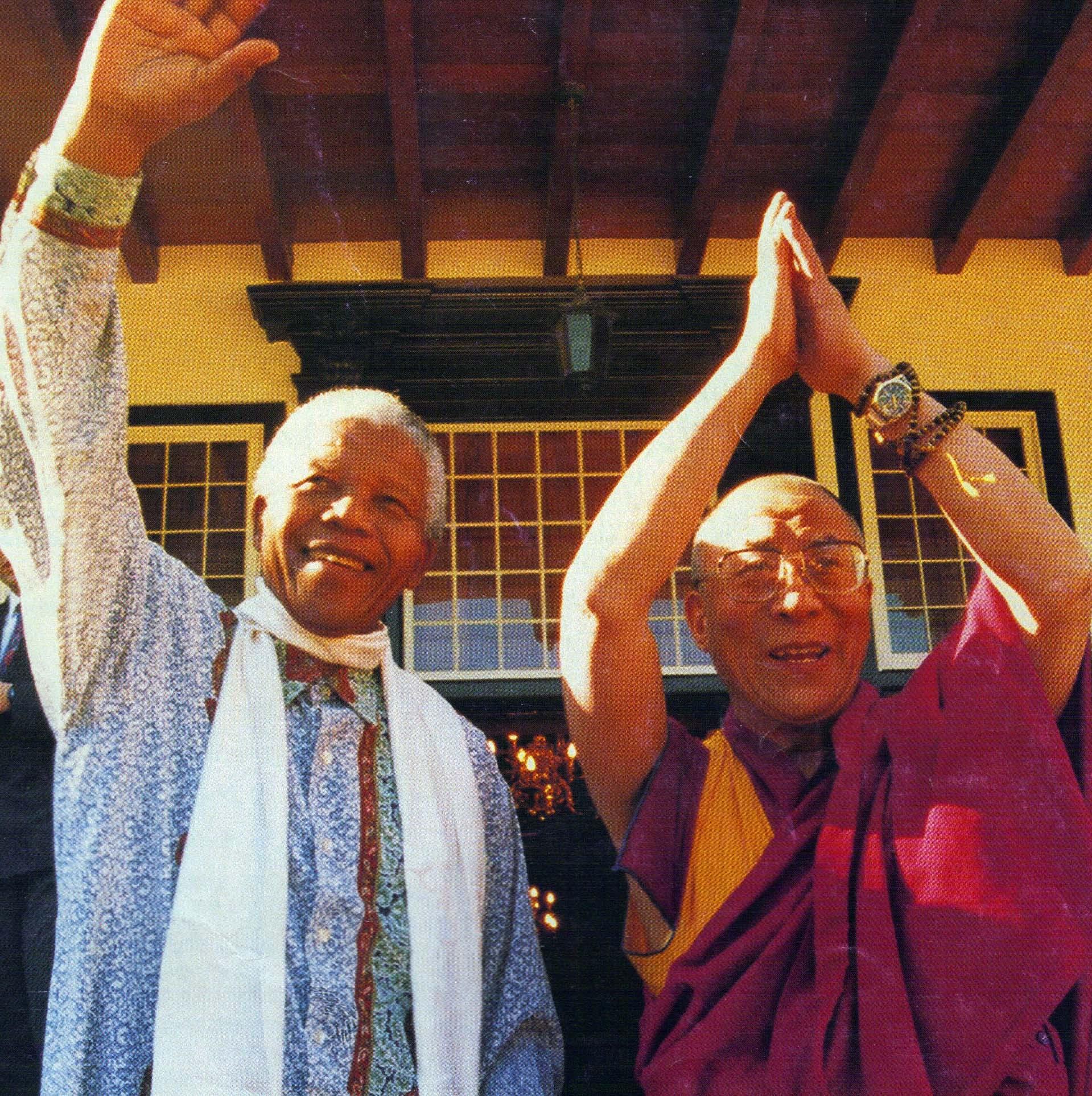 Mandela & Dalai Lama