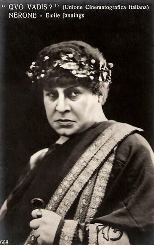 Emil Jannings as Nero