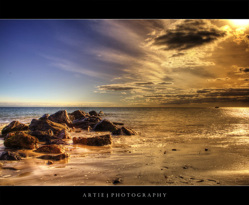 The Glenelg Beach - HDR