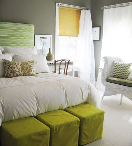Green and Grey Walls 453 x 500