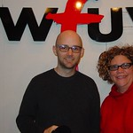 Moby at WFUV with Rita Houston