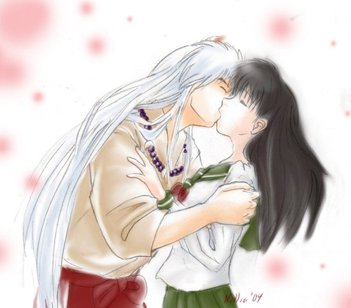 Inuyasha and Kagome Doing It http://www.flickr.com/photos/28519058@N03/2662575852/