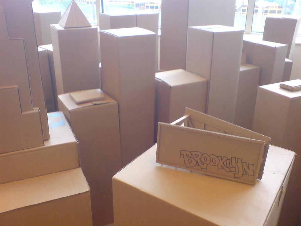 Cardboard Brooklyn
