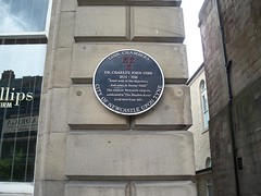 Photo of Charles John Gibb black plaque