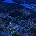 Aerial view of Dartmouth College and Hanover, NH by Thayer School of Engineering at Dartmouth