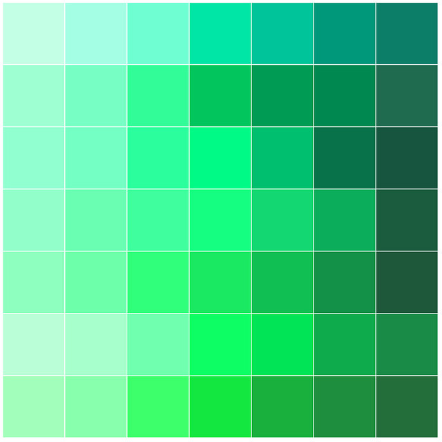 Angle Finder App >> pantone greens | Flickr - Photo Sharing!