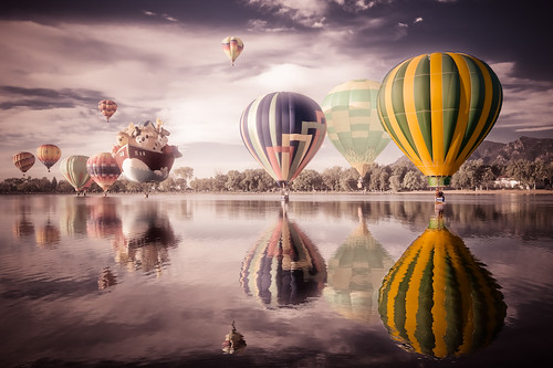 "Colorado Balloon Classic - ""Balloon surreal"""