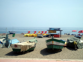 Torremolinos in summer