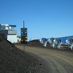 Submilimeter Array (SMA) Astronomical Observatory, Mauna Kea Summit, Big Island, Hawaii