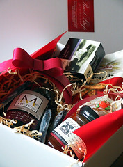 gift, red,