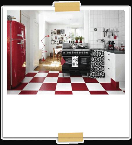 Red White Black Kitchen Flickr Photo Sharing