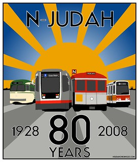 80th Anniversary of the N Judah Shirts Now Available!