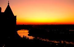 Edmonton River Valley at Dawn