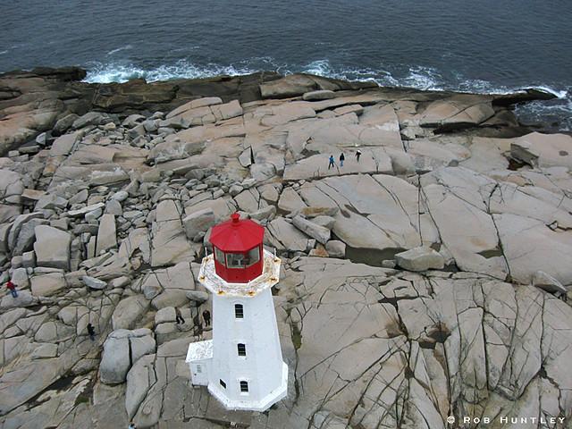 Peggy's Cove Lighthouse - Kite Aerial Photography (KAP)