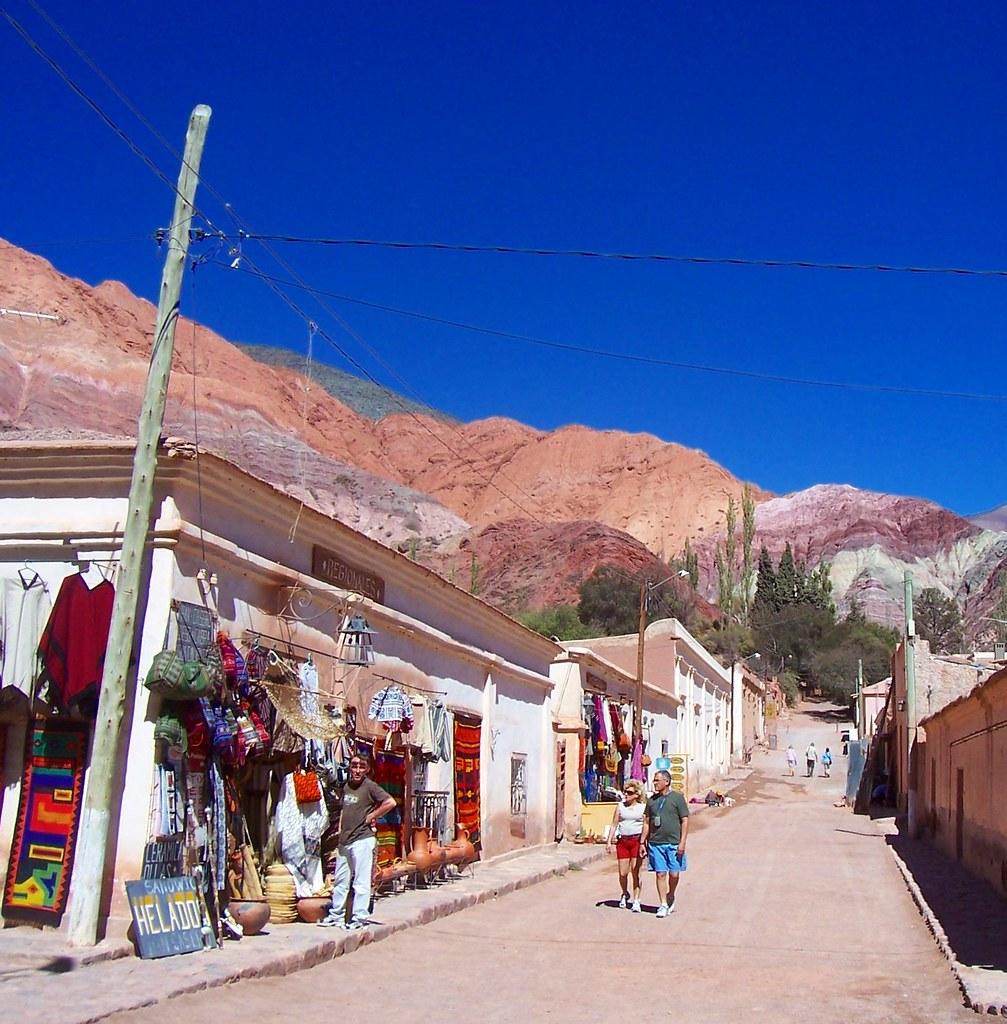 Calle en Purmamarca (Jujuy)