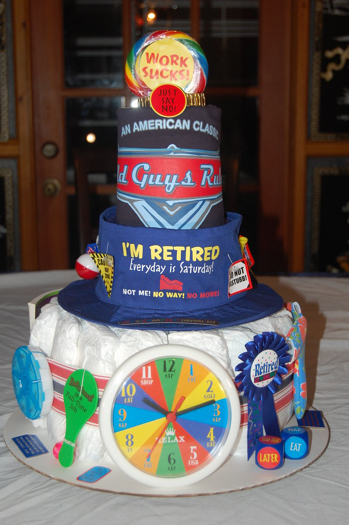 Norm S Retirement Adult Diaper Cake Ingredients 20 Adult