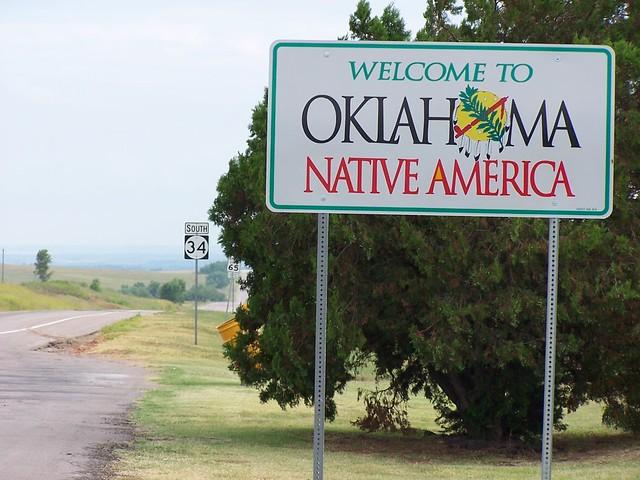 Welcome To Oklahoma Entering Woods County Oklahoma