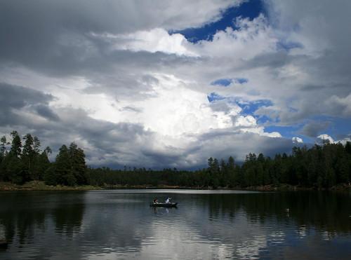 arizona pine clouds forest monsoon mogollonrim woodscanyonlake arizonathunderstorms