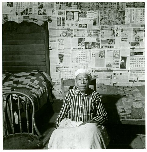 Mulatto ex-slave in her house near Greensboro, Alabama, May ...