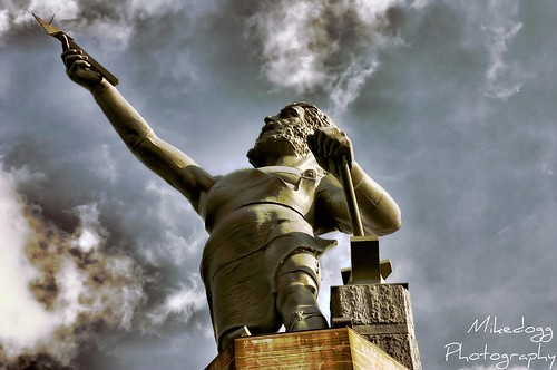 beautiful statue canon rebel interesting birmingham iron alabama vulcan hdr lightroom photomatrix