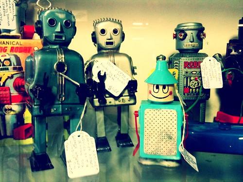 Antique Robots