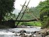 Jembatan bambu - Andung Sari Tiris