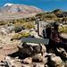 Guide Taking a Rest - Mt. Kilimanjaro, Tanzania