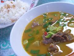 Breakfast : Soto Tangkar