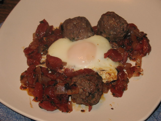 Meatball, Tomato and Egg Tagine (Kefta Mkaouara) | Flickr - Photo ...