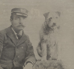 Railway Post Office Mascot Owney and Mail Carrier by Smithsonian Institution