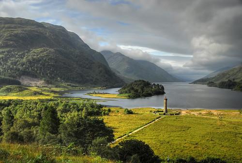 scotland hdr lochshiel glenfinnan bonnieprincecharlie